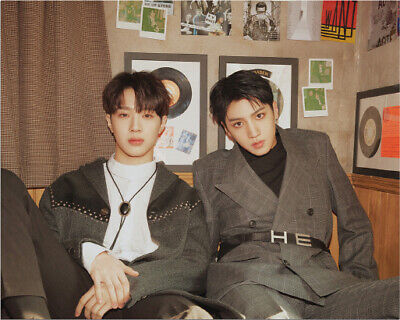 PENTAGON WOOSEOK X KUANLIN 9801 1st Mini Album CD+Photo Book+Sticker+Card SEALED