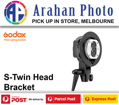 Godox S-Twin Head Bracket for Witstro AD200 AD-B2