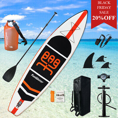 Stand up paddle board kayak 11'*33''*6'' w/Adjustable Paddle,Backpack,leash,pump