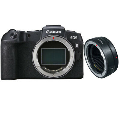 Canon EOS RP Body Multi Black with EF-EOS R adapter Ship in EU