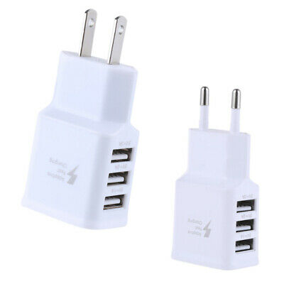 Quick Charge 3.0 USB 5V 3A Mobile Phone Wall Home Travel Fast Charger Adapter