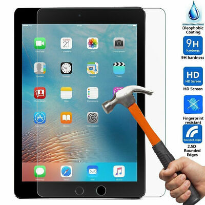 """For iPad 2 3 4 Air Pro 10.5"""" 9.7"""" 2017/2018 Tempered Glass Screen Protector Film"""