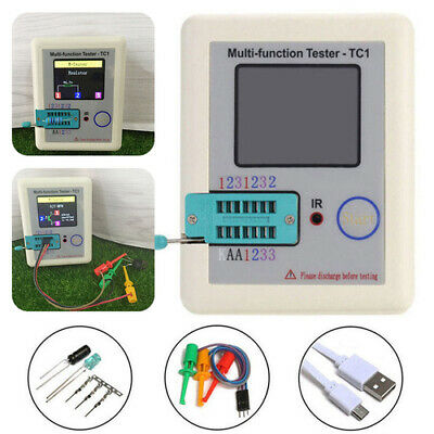 LCR-TC1 Multifunction Transistor Tester Full Color Graphics Display Pocketable