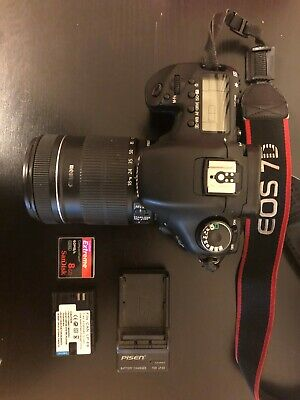 Canon EOS 7D Digital SLR Camera 18.0MP with EF-S 18-135mm Lens