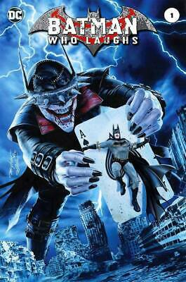 BATMAN WHO LAUGHS #1 MIKE MAYHEW HOMAGE TRADE VARIANT LTD to 1500 - NM OR BETTER