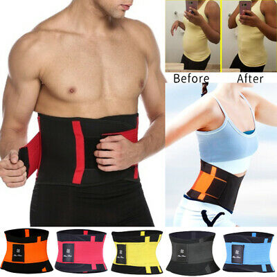 927221bbfd4 Xtreme Power Waist Trimmer Belt Burn Fat Weight Loss Workout Slimming Band  Wrap