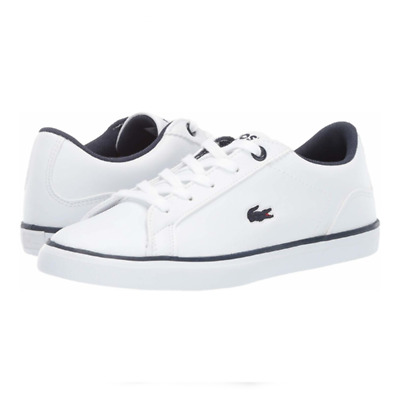 32b849432 New Lacoste LEROND BL 2 Boys Kids Adult White Lerond Sneakers Casual Shoes