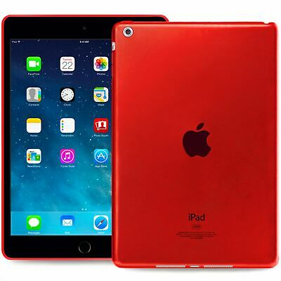 Slim Protective Silicone Cover Case For Apple iPad PRO (9.7) in Red
