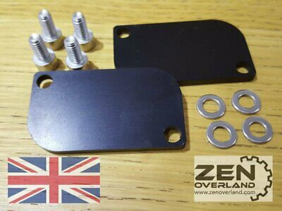KTM SAS Valve Block Off Plates - SLS Removal Eliminator 990 1190 1290 Adventure