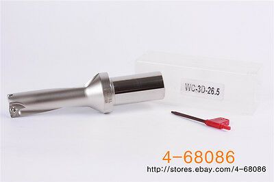 1P C25-3D25 WC05 CNC U drill indexable drill bit For WCMT050308 Insert