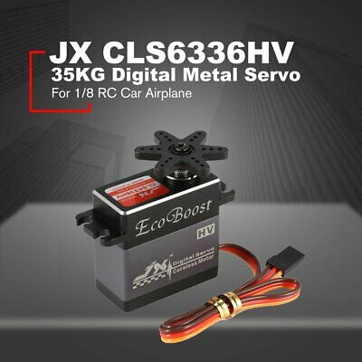 JX CLS6336HV 35KG Digital Metal Gear Coreless Servo for 1/8 RC Car Airplane ND