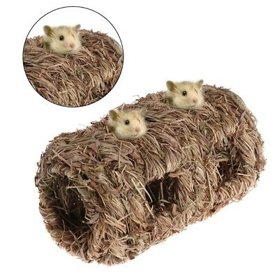 Hamster Weaved Grass Nest Small Pet Animal Toys Cage For Chinchilla Guinea Pigs