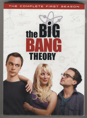 Big Bang Theory * Complete First Season * Season One * Dvd * New & Sealed
