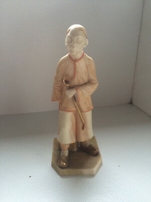 ROYAL WORCESTER JAMES HADLEY FIGURE, Countries of the World: THE CHINESE c1881