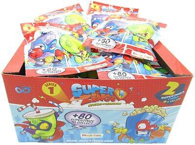 SUPERZINGS BOX 30 Bustine 2 Personaggi Ognuna ORIGINALE Rivals of Kaboom Serie 1