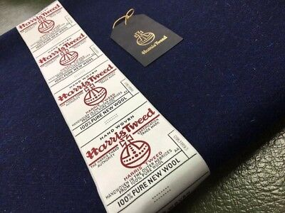 Harris Tweed Fabric 100% Wool & Large Label & Swing Ticket Tailoring Jackets