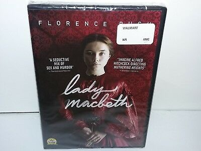 Lady Macbeth (DVD, Canadian, Widescreen 2016) NEW - Extras -- No Tax