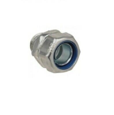 Thomas and Betts Shureseal T&B 6367 2 Inch Liquid-Tight Straight Connector
