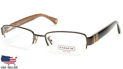 c24af81b3702 COACH HC 5027B CECILY 9094 BROWN   TORTOISE EYEGLASSES STORE DISPLAY MODEL  50mm