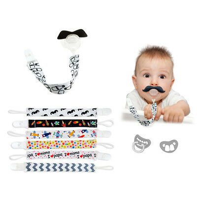 Lx_ Baby Newborn Pacifier Chain Clip Dummy Soother Nipple Holder Strap Gift Cl