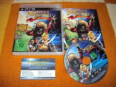 Monkey Island Special Edition Collection PS3 / Playstation 3 Sehr Guter Zustsand