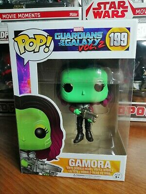 Guardians Of The Galaxy Vol 2 Gamora Funko POP! 199 BNIB - UK Seller