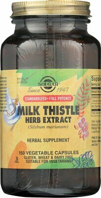 Solgar SFP Milk Thistle Herb Extract 150 Vegetable Capsules