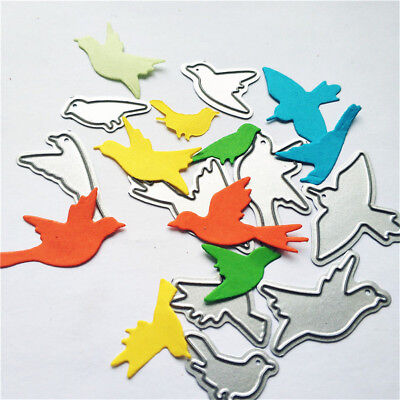 A group of birds Metal Cutting Dies For Scrapbooking Card Craft Decor LE
