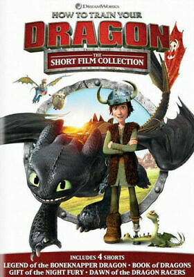 How to Train Your Dragon Short Film Collection DVD (w/ $5 code for #3 & $5 VUDU)