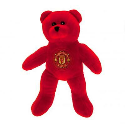 Manchester United / Man Utd Official Crested Mini Bear Plush Bear Soft To Touch