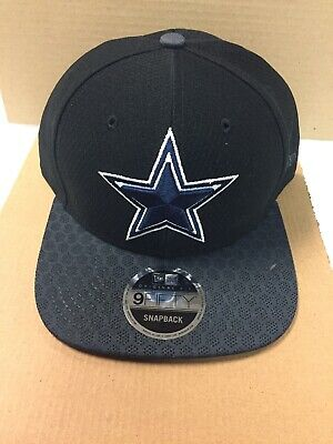 10ea6735b5ab8 Dallas Cowboys Nfl New Era 9Fifty Snakeskin Flat Brim Black Snapback Hat Cap  Nwt