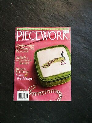 Piecework Magazine Needleworks Living Legacy May June 2005 Volume XIII Number 3