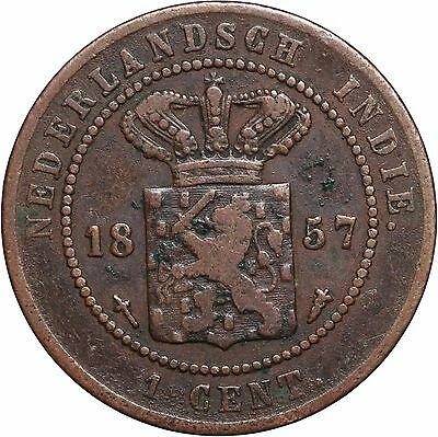 Netherlands East Indies Cent, 1857