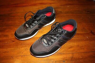 02f2a1b11718e2 New TOMMY HILFIGER 11.5 MARCUS Mens (M) Black Lifestyle Shoes TMmarcus