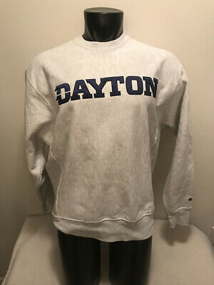 3c8beff7 Vtg Dayton Flyers Champion Original Reverse Weave Sweatshirt Mens Medium