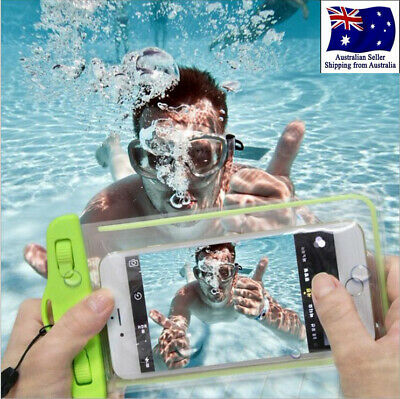 Waterproof Bag Dry Case Cover Underwater Pouch Touchscreen For iPhone Cell Phone