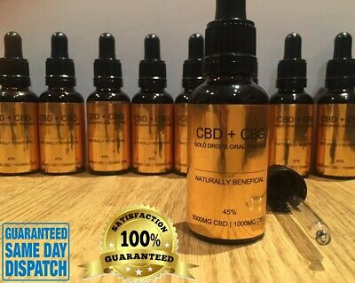 HEMP OIL DROPS for Dogs Cats Chickens Pets 10% Anxiety, Pain