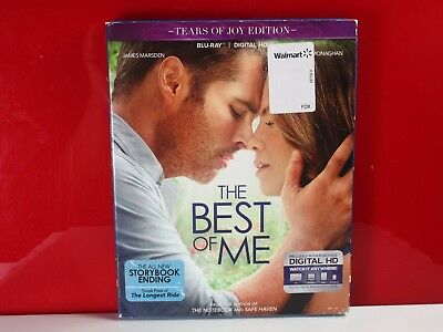NEW Nicholas Sparks The Best Of Me Blu-ray - disc, artwork and case only.