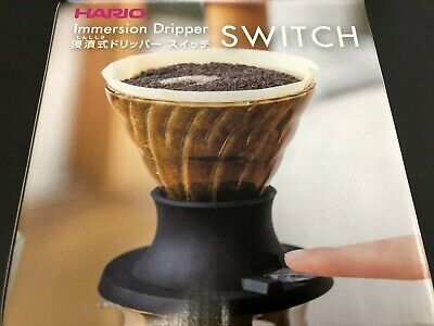 Hario Coffee Immersion Dripper Switch 1-4 Cups SSD-200-B from JAPAN