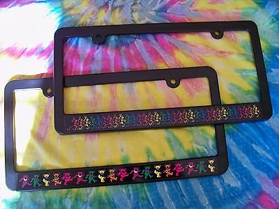 Grateful Dead Dancing Bears or Skeletons License Plate Frame