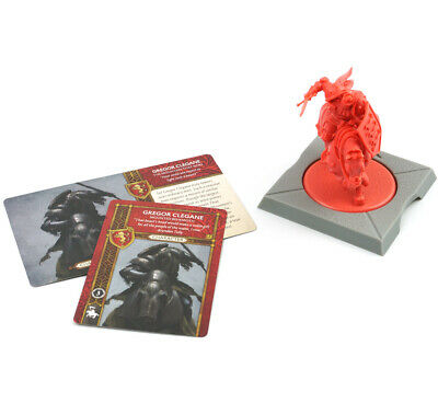 Game of Thrones Lannister THE MOUNTAIN THAT RIDES Kickstarter Exclusive Ice Fire