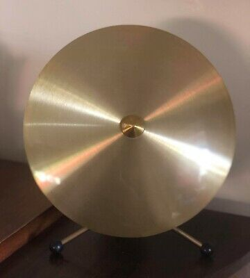 Vintage Retro Atomic Anodised Aluminium Saucer Light Lamp Jetage W845 Gwo