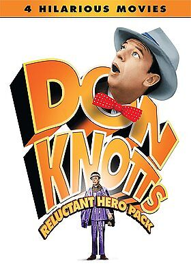 THE RELUCTANT ASTRONAUT, GHOST AND & MR. CHICKEN Don Knotts 4 FILM SET - NEW DVD