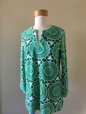 2247d4fae9 NEW Talbots Outlet Beach Cover Up Dress Size S Cotton Blue Green Sea Coral  Print. $24.95 Buy It Now 14d 18h. See Details. TALBOTS Vintage/Retro  Inspired ...