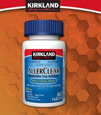 Kirkland Signature AllerClear, 365 Tablets (Free UPS Shipping)