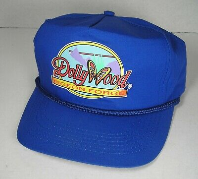 e77cc757 DOLLYWOOD Pigeon Forge Vintage Hat Trucker Cap Dolly Parton Tennessee Vtg