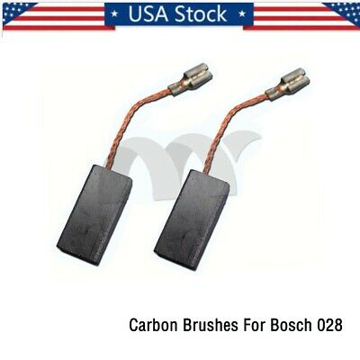 4 Carbon Brushes For Bosch 007 Drill Grinder6.3X16X22mm