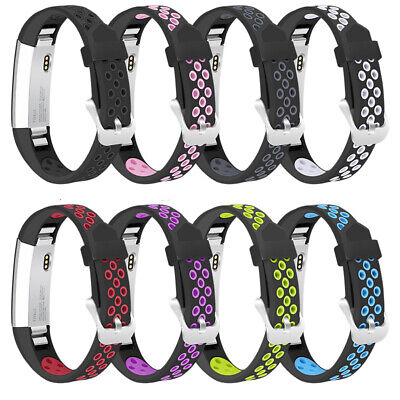 Suitable for Fitbit Alta / Alta HR Two-Color Silicone Replacement Bracelet Strap