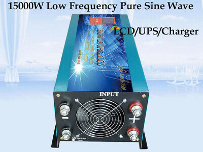 15000W LF Pure Sine Wave Power Inverter 24VDC/230VAC Onduleur Convertisseur