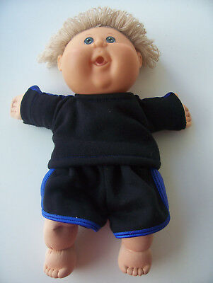 """Dolls 2 piece set tracksuit  to fit Cabbage Patch 14-16"""" size doll or similar"""